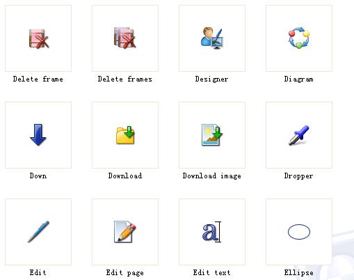 作为软件的程序图标素材32x32 248个图5:图标预览5