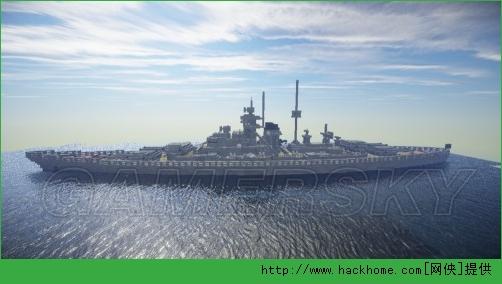 我的世界俾斯麦号超级战舰图文教程[多图]