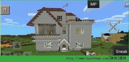 我的手机世界版建筑野外别墅v手机v0.10.4iphone/ipad版别墅层外表三图片