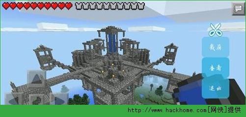 我的世界手机版建筑逆世界城堡存档下载