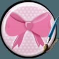 粉色蝴蝶结键盘