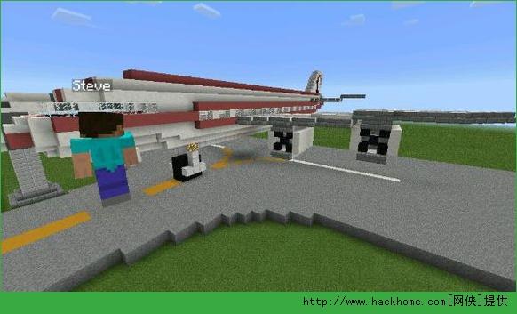 我的世界手机版民航机场建筑存档下载