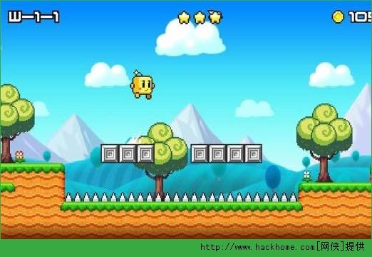 1、这款跑酷休闲类游戏是iOS付费排行榜第1的永不言弃的官方续作,是⼀款有着自由奔跑和极限跳跃系统的,难度极高的动作游戏; 2、主角会从左侧向右奔跑,玩家通过跳跃跨越障碍物或者怪物,巧妙躲避障碍或者怪物,最终到达关卡最右侧的目的地(棋子处)即可通关。通关后即可解锁下一关。注意!角色会一直奔跑不会停止,所以不要让他撞到任何东西,否则游戏结束,可以选择重新挑战本关; 3、游戏里MR.