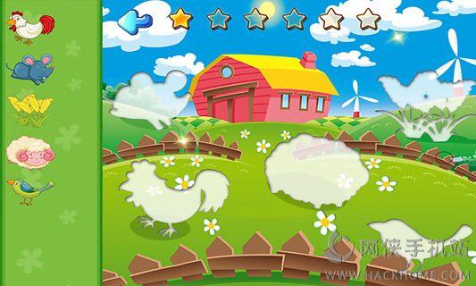 宝宝识字之开心动物农场安卓手机版app