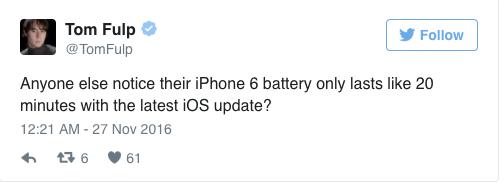 ios10.1.1好不好?ios10.1.1耗电坑哭iPhone6[多图]图片2_嗨客手机站