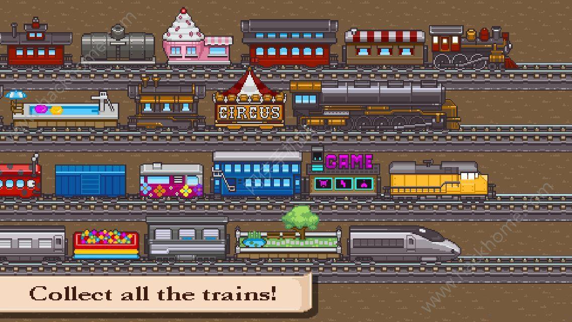 小小火车游戏中文汉化安卓版(Tiny Rails)图1: