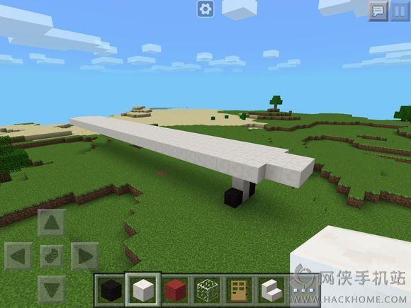 14.1飞机建筑怎么做?我的世界0.14.1飞机怎么做?