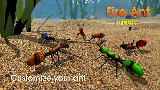 模拟火蚁官方IOS版(Fire Ant Simulator)图1: