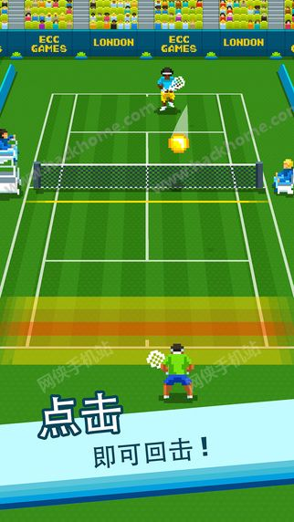啪啪网球游戏官方手机版下载(One Tap Tennis)图1: