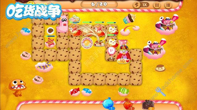 吃货战争游戏官方手机版图5: