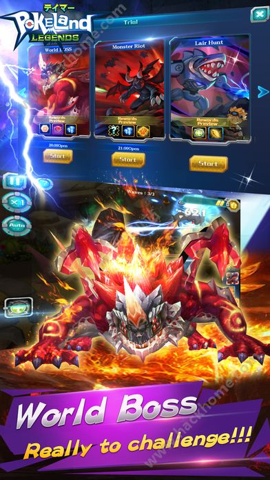 Pokeland Legends游戏安卓版下载图2: