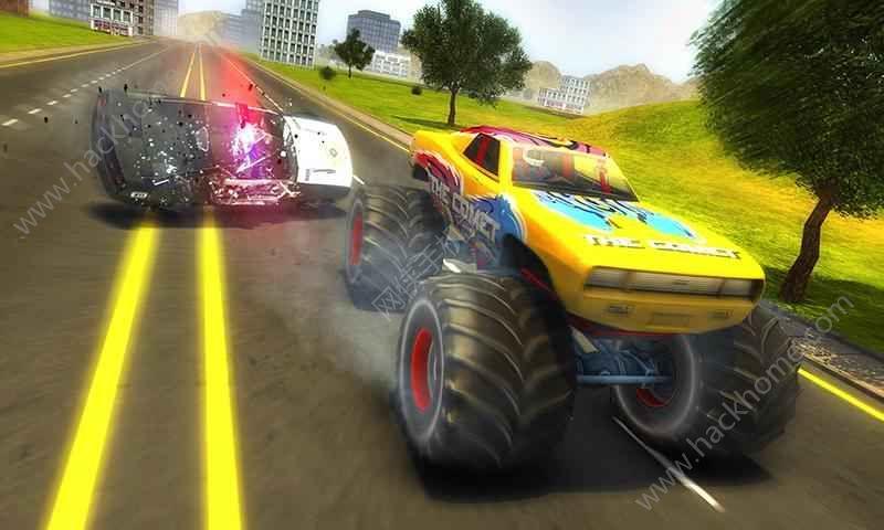 警方追捕怪物车游戏安卓版下载图1: