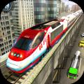 城市列车驾驶模拟器冒险游戏