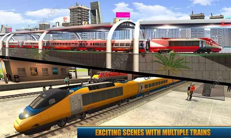 城市列车驾驶模拟器冒险游戏安卓版图5: