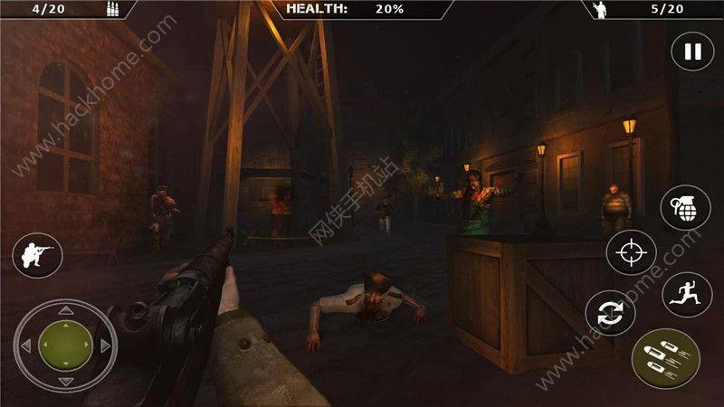 二战僵尸生存游戏中文版下载(World War 2 Zombies)图2: