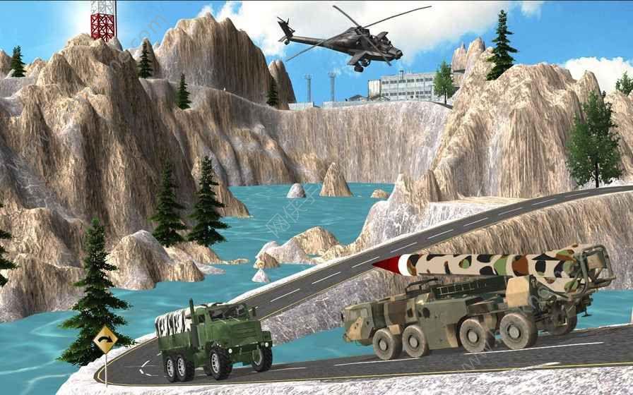 推动军队检查站卡车游戏安卓版图1:
