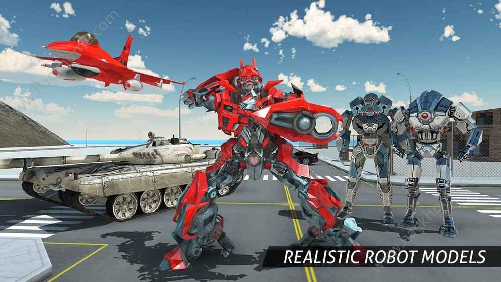 空中机器人游戏下载安卓版图1: