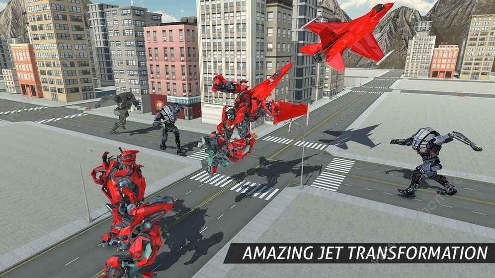 空中机器人游戏下载安卓版图3: