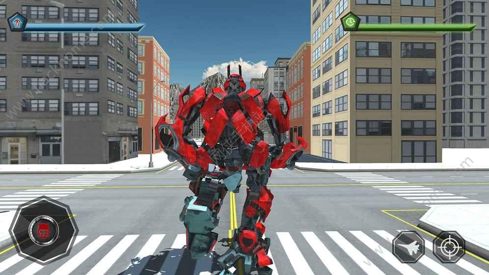 空中机器人游戏下载安卓版图5: