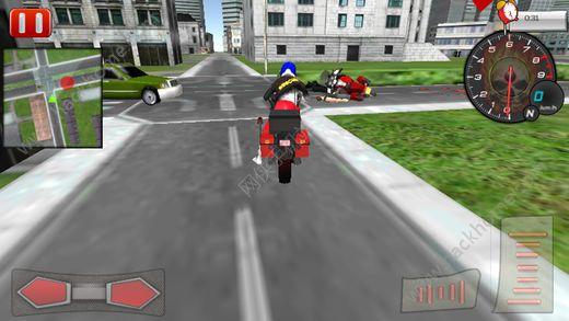 自行车骑手救护车救援游戏官方版图2:
