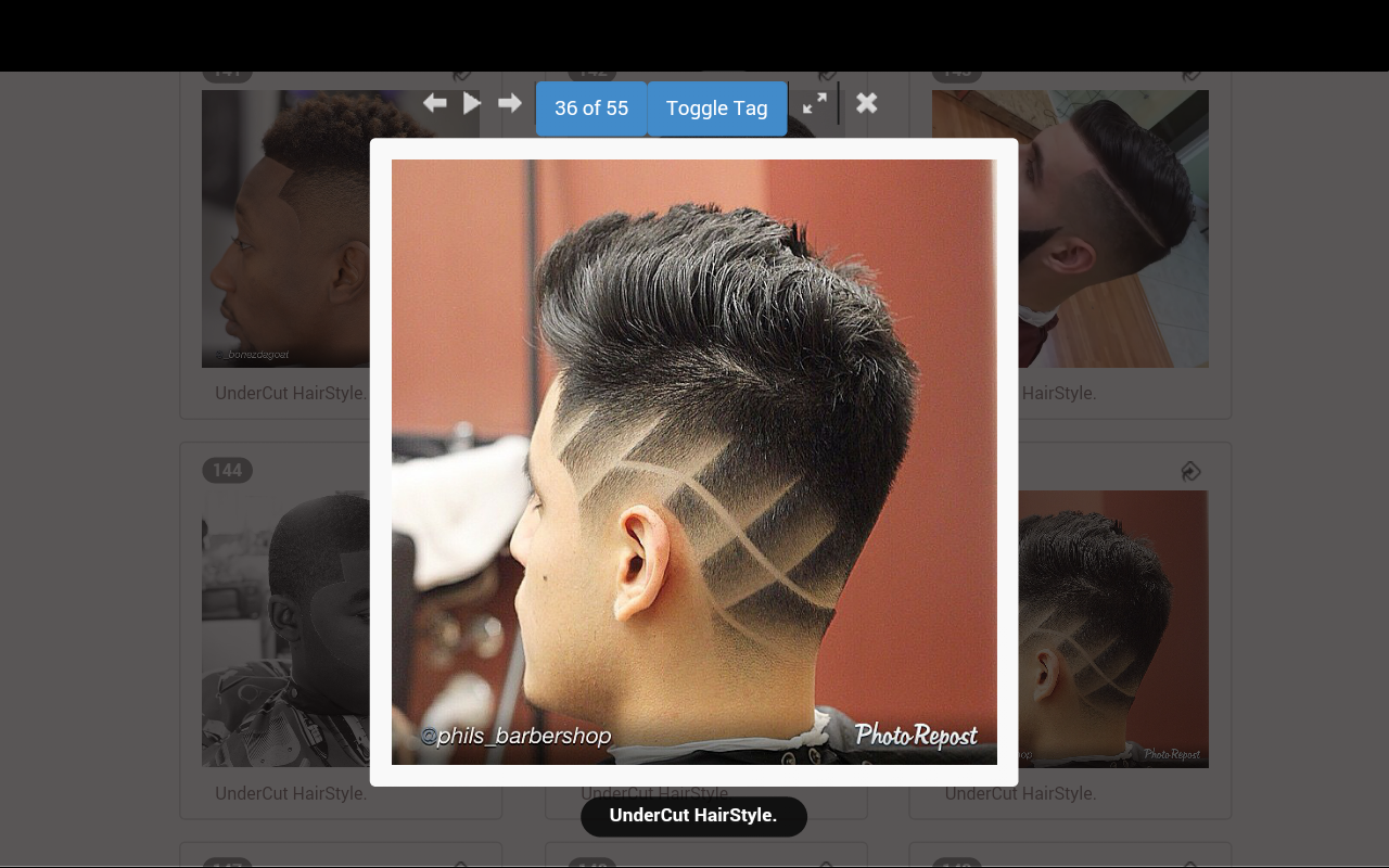 男士发型app下载手机版 v3.23图片