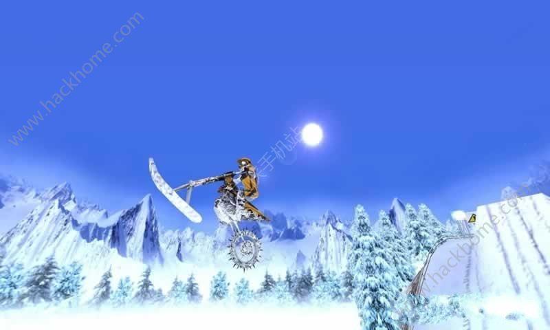 极限滑雪摩托无限金币中文破解版(XTrem SnowBike)图3: