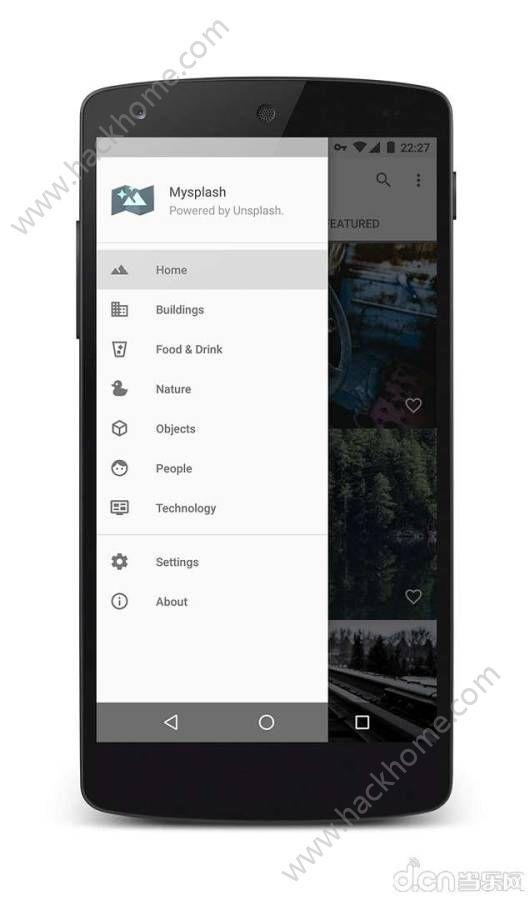 Mysplash壁纸软件ios官网app图1: