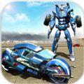 超级英雄摩托机器人刑警汉化版