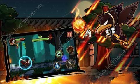 忍者战争之旅无限金币破解版(Ninja Warrior:Revenge)图2: