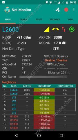 网络监控软件NetMonitorLite app图3: