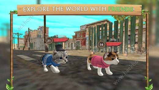 猫咪生存模拟器无限金币内购破解版(Cat Sim)图3: