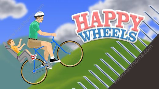 死亡独轮车手机版官方iOS版(Happy Wheels)图1: