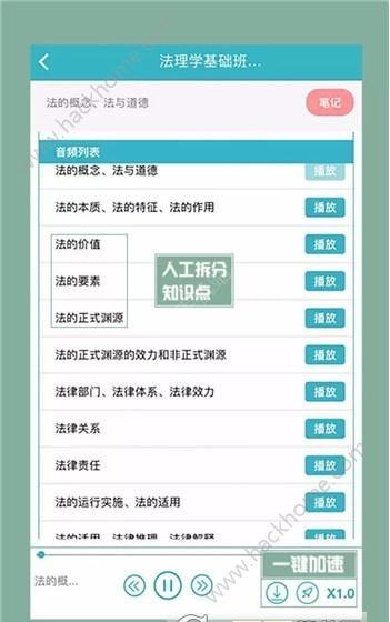 觉晓法考官网苹果版下载app ios版图3: