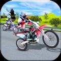 高速公路自行车特技赛车无限金币破解版 v1.0