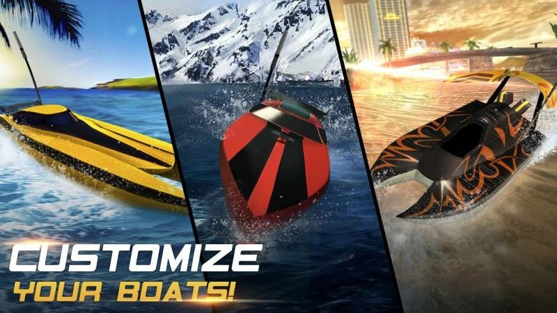 极限快艇2无限金币内购中文破解版(Xtreme Racing 2 Boat)图3: