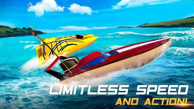 极限快艇2无限金币内购中文破解版(Xtreme Racing 2 Boat)图2:
