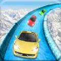 冰冻水滑道赛车游戏安卓版(Frozen Water Slide Race) v1.1