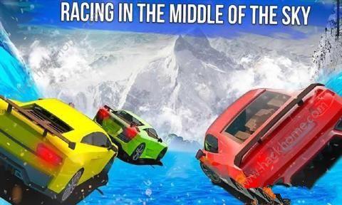 冰冻水滑道赛车游戏安卓版(Frozen Water Slide Race)图3: