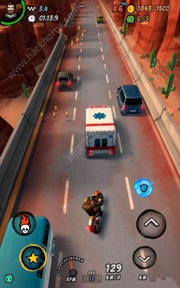 摩托赛车2公路燃烧游戏中文汉化版(Moto Racing 2 Burning Asphalt )图2: