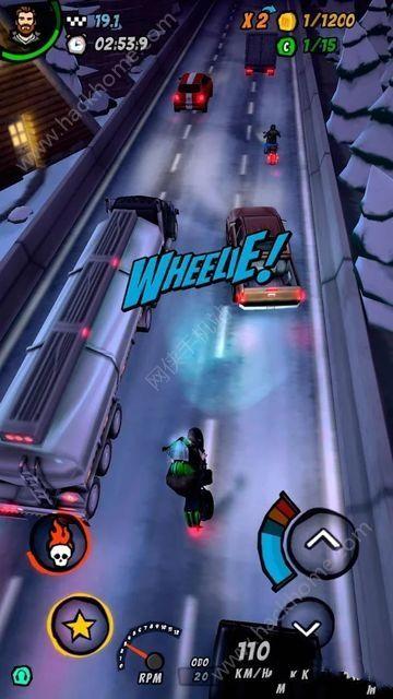 摩托赛车2公路燃烧游戏中文汉化版(Moto Racing 2 Burning Asphalt )图4: