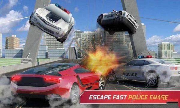 通缉车辆模拟2017游戏中文汉化版(Car Simulator 2017 Wanted )图2: