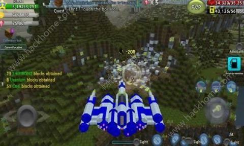 像素空战世界无限金币中文破解版(BlockAircraft)图3: