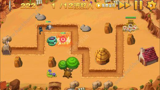 热血坦克塔防英雄游戏安卓版图1: