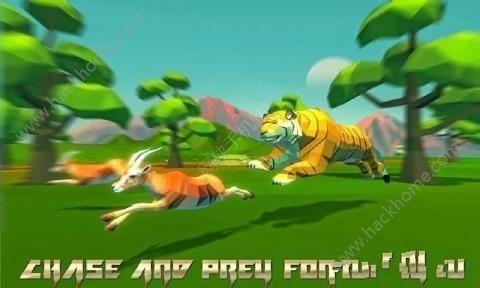 老虎模拟器幻想森林游戏中文汉化版(Tiger Simulator Fantasy Jungle)图3: