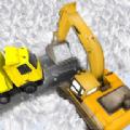 雪地挖掘机救援模拟器中文无限金币破解版(Snow Excavator Rescue Sim 3D) v1.7
