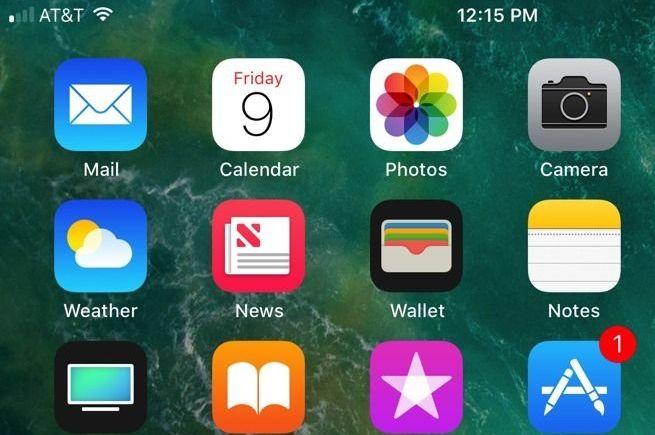 iOS11信号强度的标志变了 苹果iOS11信号图标改变介绍