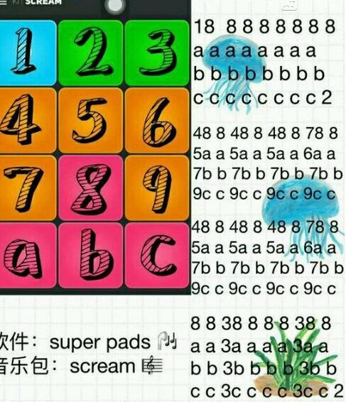 super pads教程图片大全 教程图解谱子汇总