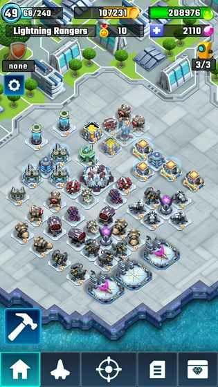 特攻天团安卓版手机游戏(Lightning Rangers)图1: