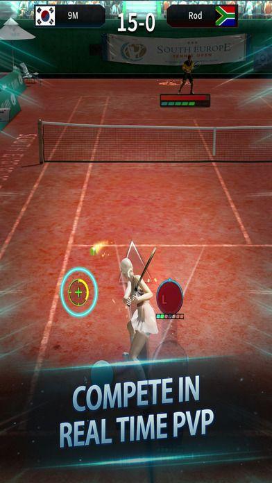 全民网球进化国服官网中文版(Ultimate Tennis Revolution)图4: