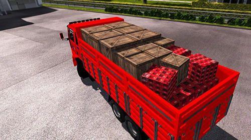 货车司机模拟货物运输游戏汉化中文版图1: